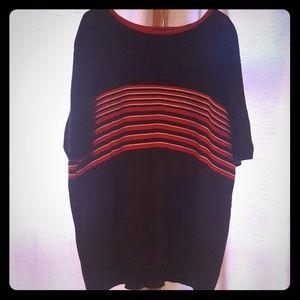 Karen Scott striped women's knit sweater